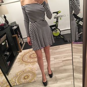 Lover and friends striped dress size XS